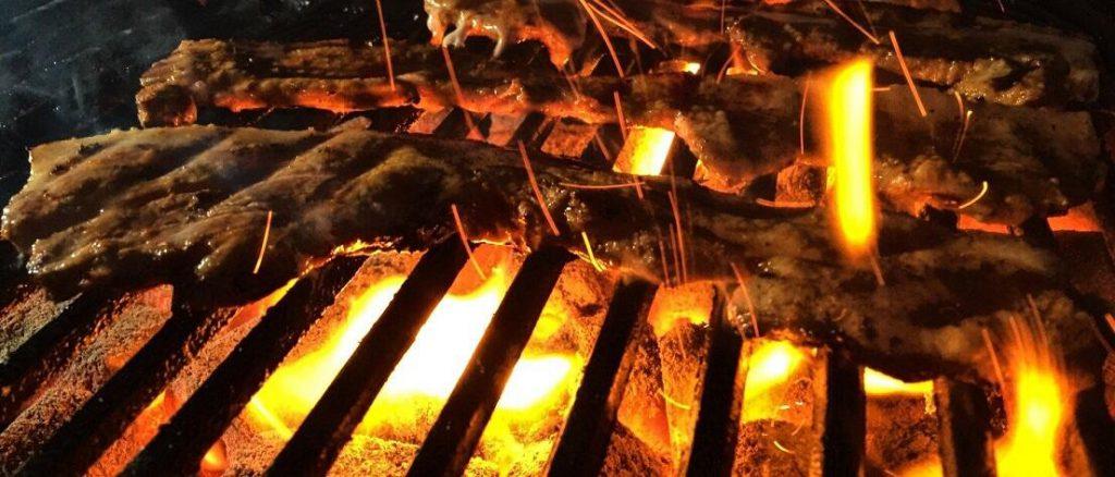 Kokoskool vuur test