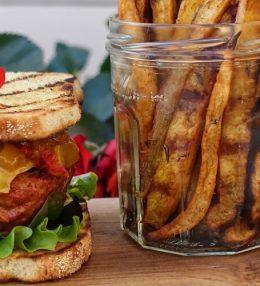 Valentijns Hamburger met Mango