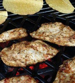 Kruidige Top Sirloin Steak van de BBQ Grillfun