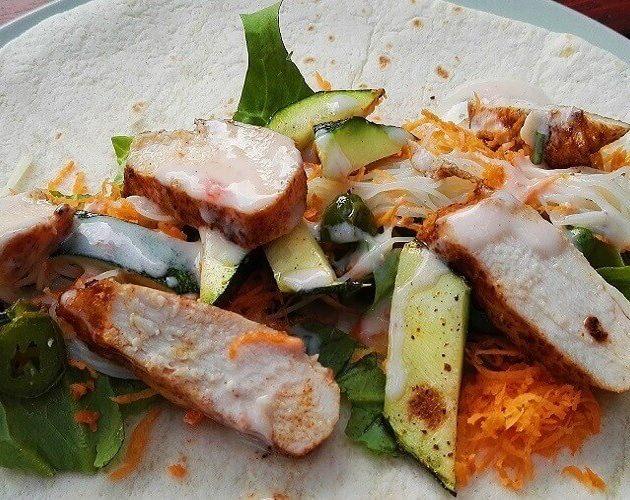 Tortilla Wraps Gegrilde Kip