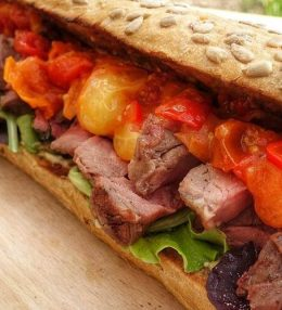 Rib eye Koningsdag Sandwich Recept