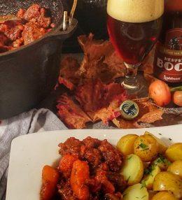 Runderstoofvlees van Sucade met Herfstbok bier