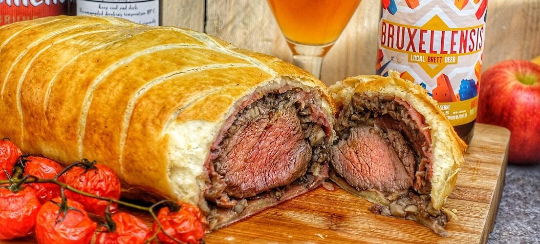 Beef Wellington met Ossenhaas van de BBQ