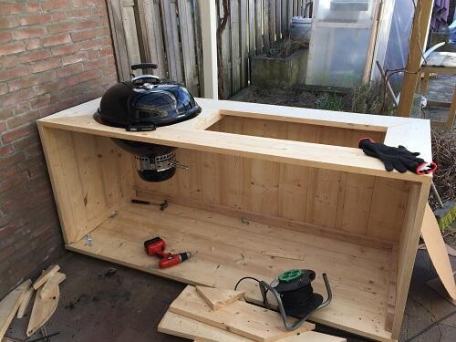 bbq meubel weber Stap 3