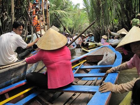 Vietnam boottocht