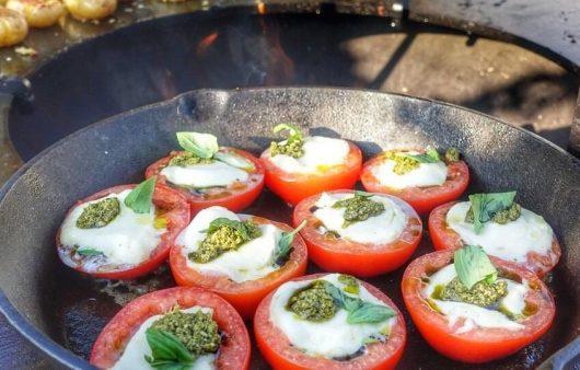 Gevulde Tomaat met Mozzarella