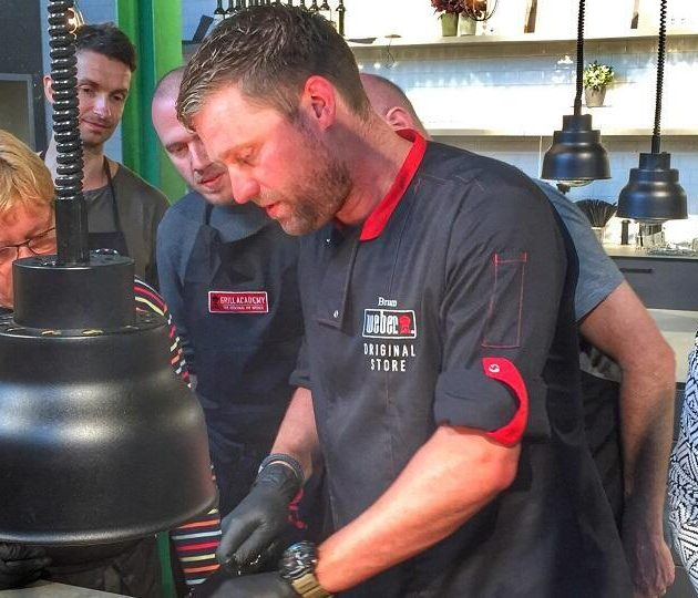 Gas BBQ workshop