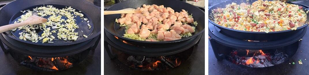 Paella voorbereiden