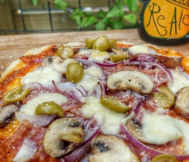 Pizza Spianata Romana