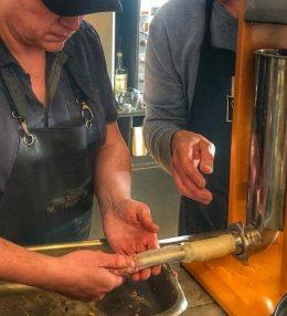 Zelf jalapeno cheddar worst maken