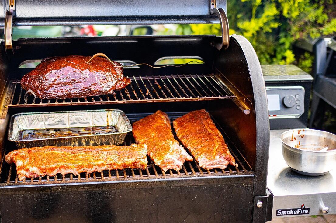 Smokefire pulled pork