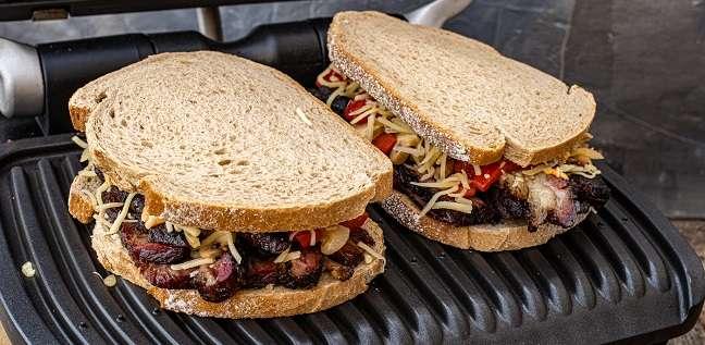 sandwich met short rib