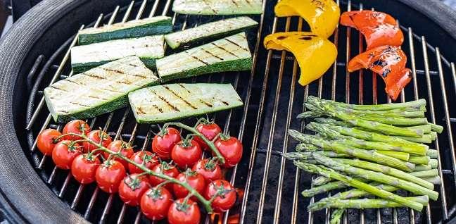 groenten op de bbq