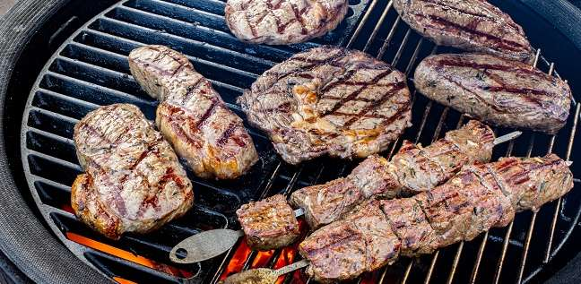 mixed grill kamado joe